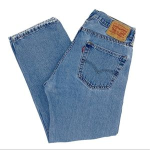 Vintage High Waisted Levi Mom Jeans